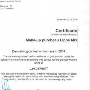 сертификат пигмент пьюбо губной