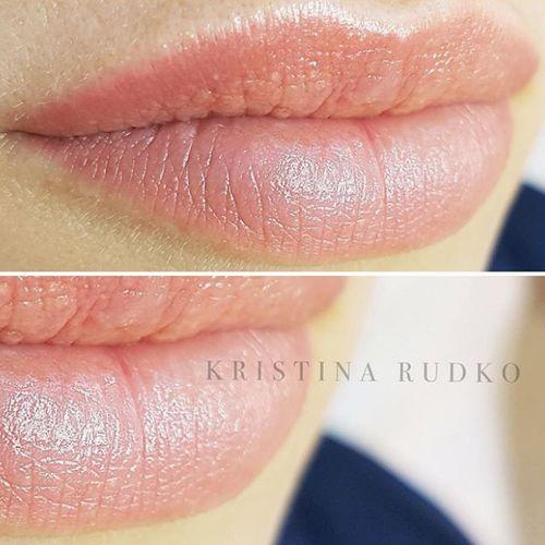 перманентний макіяж губ акварель київ
