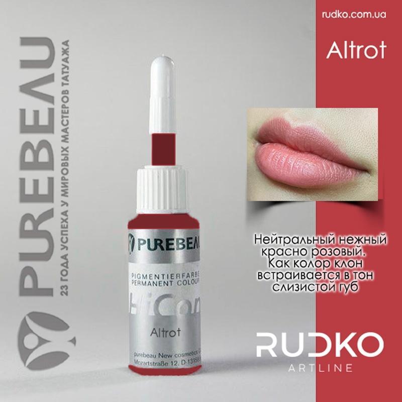 натуральный пигмент для татуажа губ купить